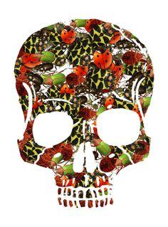 Shape Collage, Collage Maker, Skull, Shapes, Halloween, Unique, Fun, Skulls, Sugar Skull