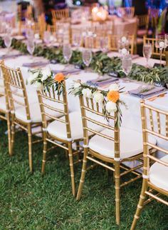& Beautiful chairs! | Wedding Details | Pinterest | Weddings