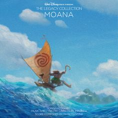 Custom artwork for 'Moana' in the style of Disney's The Legacy Collection. I used concept art from the film for this one. I made this a couple months ago and forgot to post it, but it turned out very similar to the actual album cover!