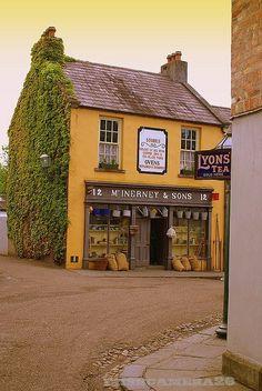 lovely old traditional corner shop