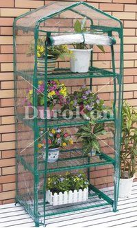 Zenport SH3205 Four Tier Versatile Mini Greenhouse for Protected Patio, Balcony Plant Growing and Gardening [ZEN-SH3205] - $39.22 : DuroKon.com, Discount Tools & Supplies for Farm, Garden, Greenhouse, Landscape, Nursery, Orchard & Vineyard