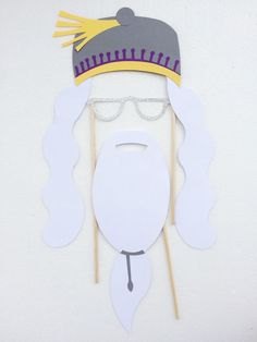Wizard Harry Birthday Party Photo Booth Props di LetsGetDecorative