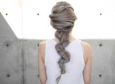 youtube: @confessions of a hairstylist. criss cross into braid. #hair #video