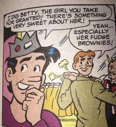Really, Archie? You two-timing jerk! Archie Comics Characters, Archie Comic Books, Archie Jughead, Betty And Jughead, Archie Comics Riverdale, Bulldogs, Betty & Veronica, Josie And The Pussycats, Nerd Love