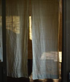 noren (japanese curtain) by itarugra, via Flickr, idea for under the stairs nook & rest of windows