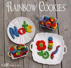 Rainbow Cookies -Jamie Cooks It Up!