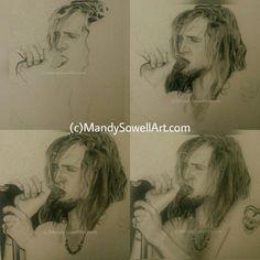 Layne Staley drawing wip