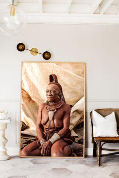 Namibia Elder Photographic Print | Extra Large Size | © Kara Rosenlund