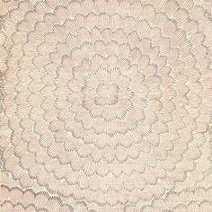 5006075, Feather Bloom, Venetian Pink, Schumacher Wallpapers