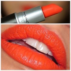 MAC Morange awsome summer shade, nearly neon!!! Reminds me of the 50's though