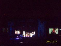 Madonna during Miles Away.