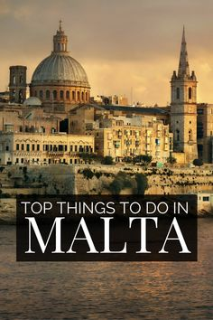 Things to do in Malta; Discover why #Malta is one of the top destinations in #Europe. From Gozo to Valetta, explore the top Malta beaches and the unique Malta Game of Thrones filming locations. With our guide to the top things to do in Malta and list of best places to visit in Malta. Stunning landscapes, food, people and adventures await for your Malta Vacation!
