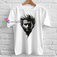 The Wolverine in Mostly Black and White T-shirt gift Tees adult unisex custom clothing Size S-3XL