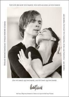 Poster Rudolf Noureev et Margot Fonteyn en répétition de Roméo et Juliette en 1965