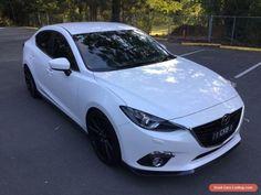 2016 Mazda 3 BN MY17 SP25 GT Snowflake White Pearl Automatic 6sp A Sedan #mazda #3 #forsale #australia