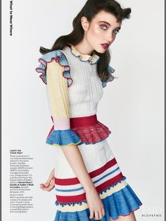 Sweater Songs in Vogue USA with Grace Hartzel - (ID:36124) - Fashion Editorial | Magazines | The FMD #lovefmd