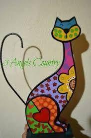 Folk Embroidery Tutorial Imagen relacionada - Pebble Painting, Tole Painting, Fabric Painting, Cat Crafts, Diy Arts And Crafts, Folk Embroidery, Learn Embroidery, Mosaic Patterns, Embroidery Techniques
