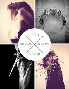 Aelin Galathynius| King's Champion| Queen of Terrason| Adarlan's Assassin|