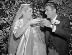 *PATRICIA & PETER LAWFORD ~ married in but in 1966 became the first Kennedy couple to divorce. Former Kennedy wife tells of Robert Kennedy's come-on's, JFK's stealing, and the family's philandering Kennedy Wife, Les Kennedy, Robert Kennedy, Jacqueline Kennedy Onassis, Caroline Kennedy, Hollywood Actor, Old Hollywood, Celebrity Couples, Celebrity Weddings