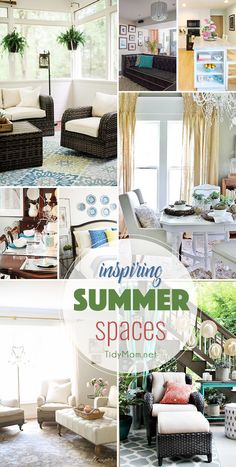 Inspiring Summer Spa