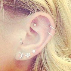 Elegant Ear Piercings Jewelry at MyBodiArt