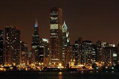 O que fazer a noite em Chicago #viagem #ny #nyc #ny #novayork