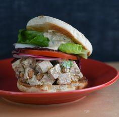 A New Very Flavorful Chicken Salad Sandwich #SandwichWeek