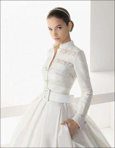 wed-dress-with-pockets_barbara-palvin-for-rosa-clara-2012-1