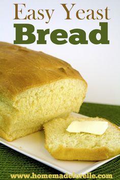 easy yeast bread recipe