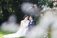 Bröllopsmagi i trädgårdsföreningen. #septemberhimmel