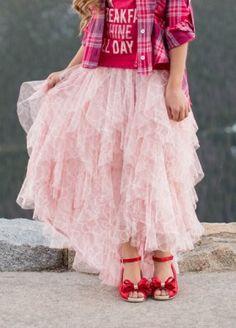 *NEW* Bianca Skirt in Blush