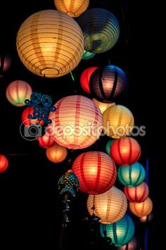 Chinese lanterns season — Stock Image #56014629