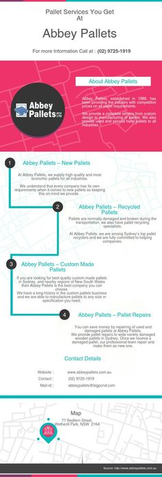 Pallet Services You Get At Abbey Pallets: Get complete range of pallets and pallet solutions at Abbey Pallets.