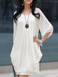 ファッションレディースファッション5分袖丈ホワイトデートワンピースは格安とか人気のものなどいろいろな種類があり、ここで。一番のサービスと最高品質の商品Doresuweで提供しています。