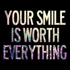 O teu sorriso vale tudoo ♥