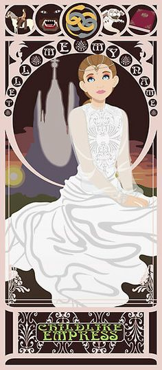 Childlike Empress Nouveau - Neverending Story by CptnLaserBeam  childhood classic
