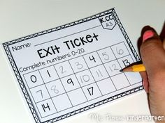 If you thought exit tickets were just for the older grades, check out these AMAZING primary common core math exit tickets. Even if you& never used exit tickets, these are SO quick and easy to use! First Grade Classroom, Kindergarten Classroom, Teaching Math, Teaching Ideas, Kindergarten Prep, Common Core Standards, Primary Maths, Primary Classroom, Future Classroom