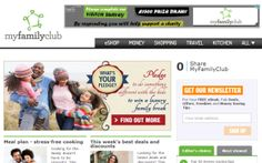 March My Fav Place to Shop - Visit MyFamilyClub Before Shopping