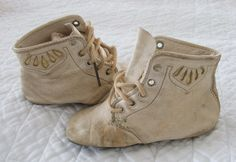 Old baby shoes from Auntie