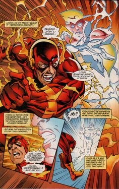 Wally West is haunted by the ghost of Johnny Quick.