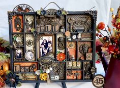*Graphic 45* Steampunk Spells Altered Printers Tray - Scrapbook.com