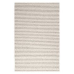 Taupe and cream wool rug