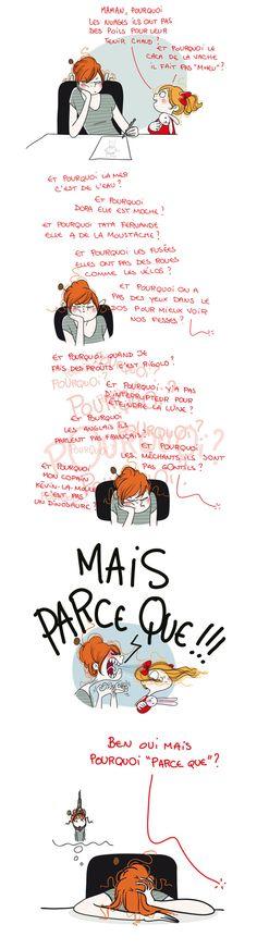 Pourquoi - illustratrice Nathalie Jomard