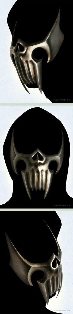 Assassin mask by DenisPolyakov
