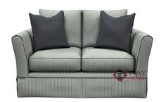 Rome Twin Sleeper Sofa by Savvy.  Super comfy and chic. Customizable.