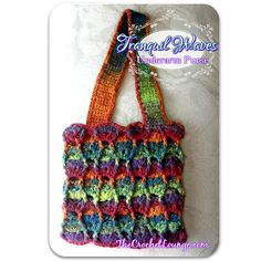 Tranquil Waves Purse crochet pattern