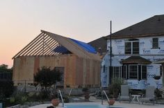 home additions- framing General Construction, Room Additions, Do It Yourself Home, Master Suite, Home Remodeling, Household, Diy Projects, Windows, Dreams