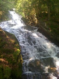 Thundering Brook Falls in Killington - It's even better in person - awesome sound and so beautiful.
