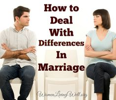 All marriages deal with differences. If we traded in our marriage for another, we would just be trading problems with this guy – for problems with that guy – because the reality is, all marriages have problems to varying degrees. Sometimes I wonderwhy God made men and women so incredibly different.