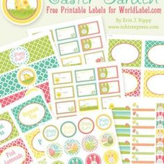 More FREE printable labels. Thanks Tip Junkie!